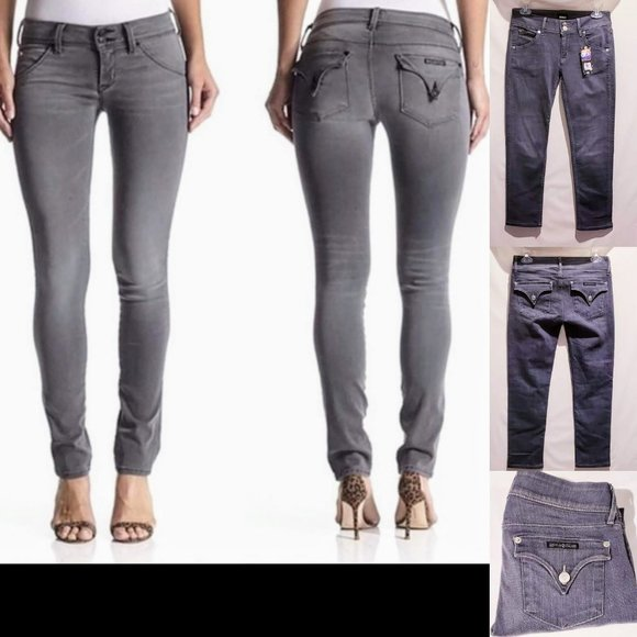 "Hudson Jeans Denim - 🌟New🌟Hudson ""Collin"" Skinny Jeans, Gray size 27"